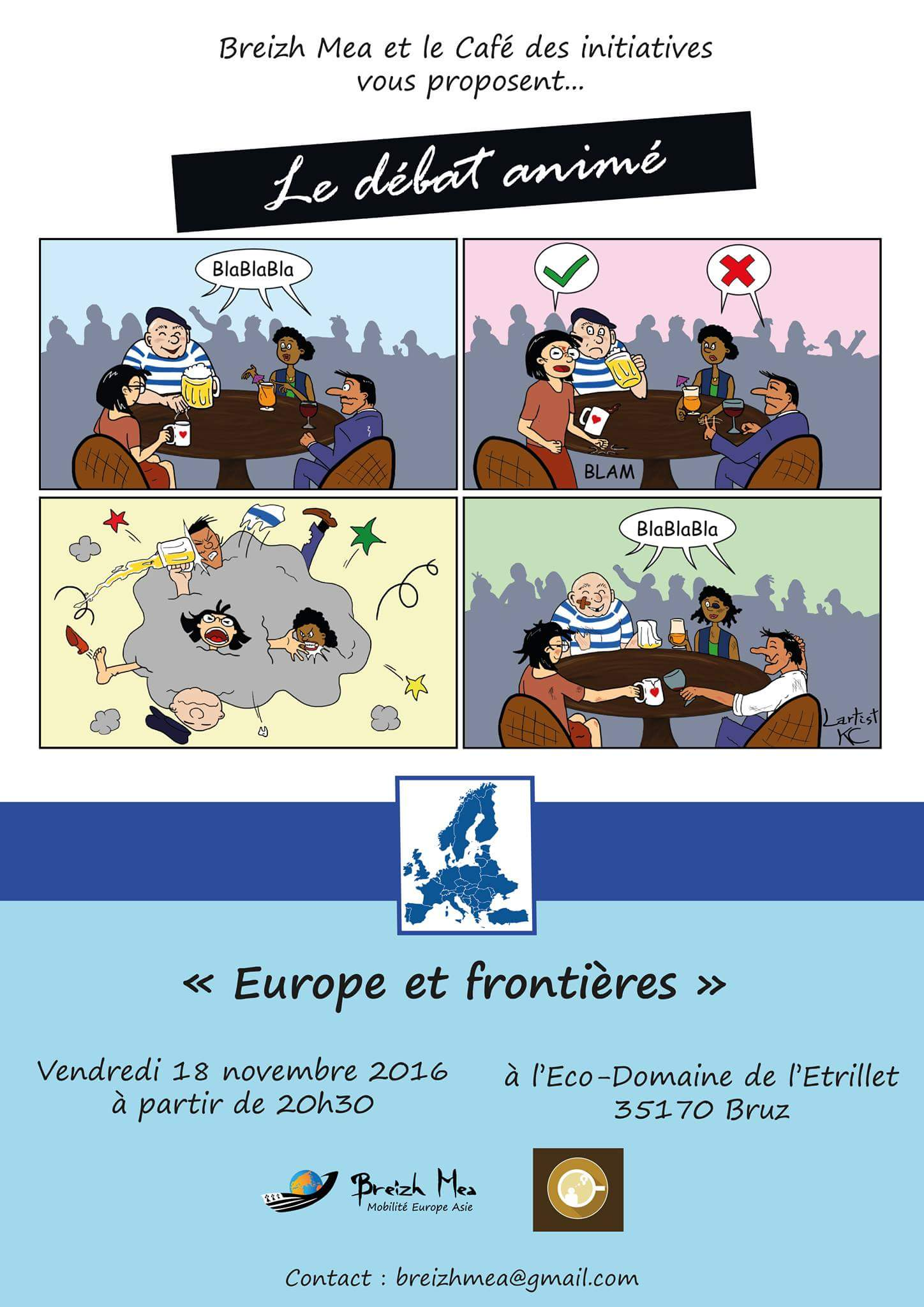rencontre asie-europe